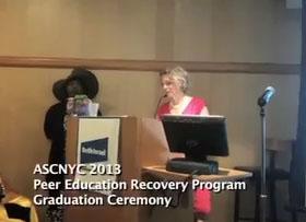 Peer Education Recovery Program Graduation Ceremony 2013